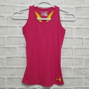 3/$20 Girls Under Armour Tank Size Youth Small
